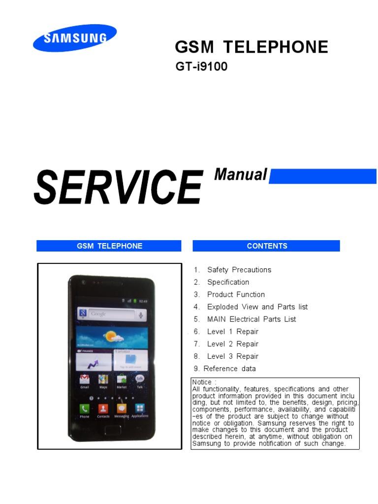 00 gt i9100 cover 1 rh scribd com Samsung Manual PDF Verizon Samsung Flip Phone Manual