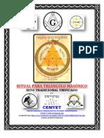 RITUAL PARA TRIÁNGULO MASÓNICO - RITO TRADICIONAL UNIFICADO