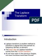03_The Laplace Transform