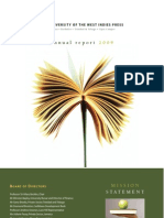 University of the West Indies Press Annual Report, 2008-2009