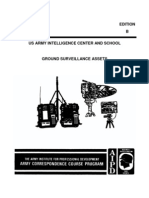 IS3004 Ground Surveilance Assets