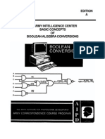 IT0343 Basic Concepts of Boolean Algebra Conversion