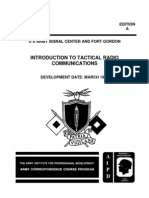 SS0002 Introduction to Tactical Radio
