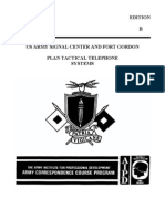 SS0029 Plan Tactical Telephone Systems