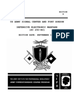 SS0135 Defensive Electronic Warfare