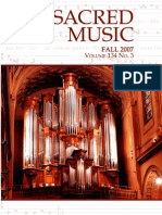 Sacred Music, 134.3, Fall 2007; The Journal of the Church Music Association of America
