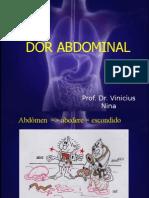 Semiologia Dor Abdominal
