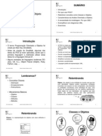 TEMA 1 - apresentacao - Análise Orientada a Objeto - UML