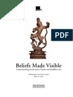 Beliefs Made Visible. Understanding South Asian and Buddhist Art