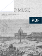 Sacred Music, 110.1, Spring 1983; The Journal of the Church Music Association of America