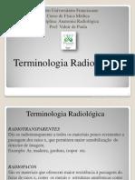 Aula 1 Terminologia Radiológica