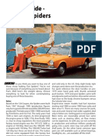 Buying Guide Fiat124 Spiders