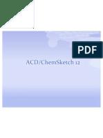 ACD chemsketch 12