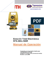 manual estacion south NTS-362R en español