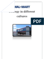 Walmart and Its Strategy in Different Cultures
