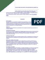 PROGRAMAS EDUCATIVOS PARA PACIENTES CON NEFROPATÍA DIABÉTICA