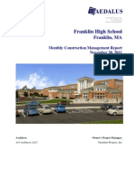 2011 11 FHS Monthly Report