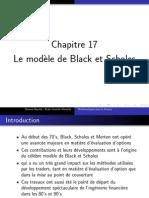 Chap 17 - Le Modele de Black Et Scholes