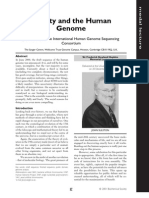 J. Sulston and the International Human Genome Sequencing Consortium- Society and the Human Genome