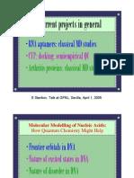 E Starikov- Molecular Modelling of Nucleic Acids