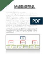 Lectura 4 Fundamentos de La Estructura Organizacional