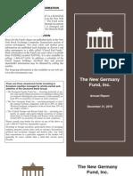 New Germany Fund, Inc. (GF)