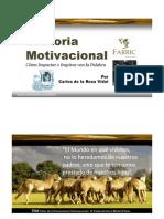 Oratoria Motivacional | Consejos | Carlos de la Rosa Vidal