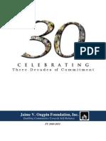 JVOFI Annual Report 10-11