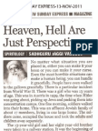 Heaven Hell Are Just Perspectives - TheNewSundayExpress-13-Nov-2011