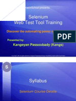 Basic Selenium Tutorial - Course Details