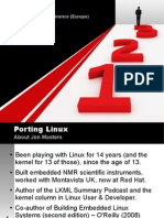 Masters Porting Linux