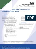 Cardiac Implantable Device NICE