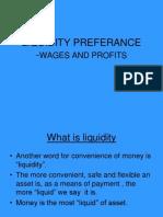 Liquidity Preferance