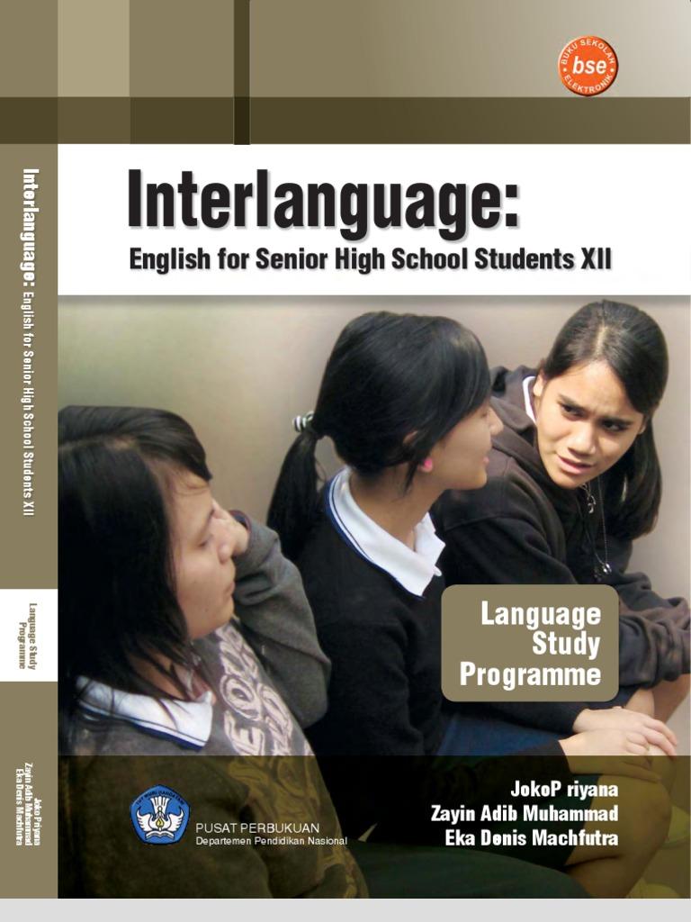 Bahasa Inggris Sma12bhsing InterlanguageLanguageStudyProg