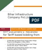 Bihar Infrastructure Company Pvt
