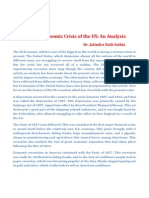 The US Economy in Peril