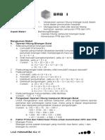 Matematika Kelas 6 Sd Semester 1