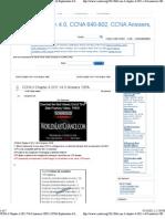 CCNA 3 Chapter 4 2011 V4.0 Answers 100% _ CCNA Exploration 4.0
