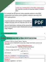 CHAPTER 06 - RSA Cryptosystem