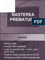 NASTEREA  PREMATURA