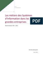 2011 Metiers Des SI Dans Grandes Entreprises Nomenclature RH CIGREF FR