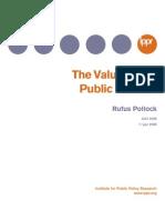 Value of Public Domain