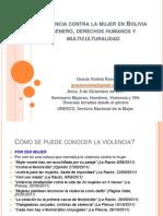 Mujeres, Hombres Violencia y VIH