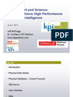 Planning for High Performance OBI - June 2011