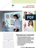 UB-T880 Education Brochure