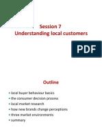 11121501 COMAS 2011 Winter - Global Marketing - Chap007 - Understanding Local Customers