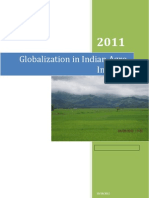Globalization of Indian Agro Industries