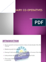 Dairy Co Operatives