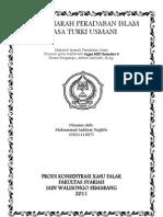 Makalah Sejarah Peradaban Islam, Sejarah Peradaban Islam Masa Turki Usmani (1294-1924)