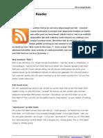 RSS en Google Reader